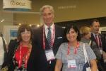 La Presidente IFLA Donna Scheeder, la Presidente eletta Gloria Perez ed il Segretario Generale Gerald Leitner